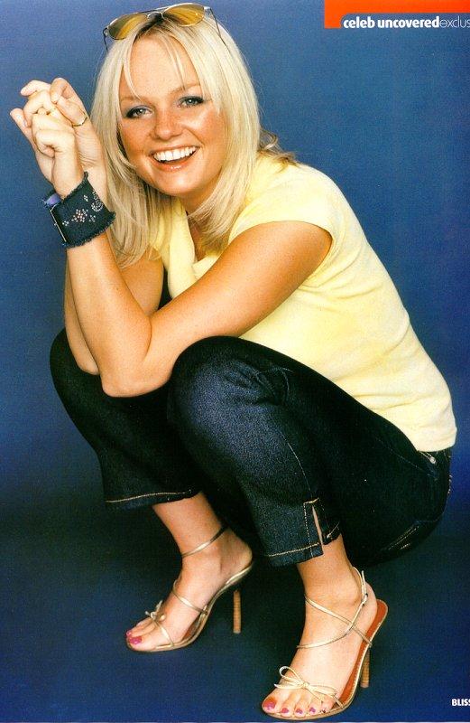 Emma bunton feet